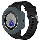Alonea Replacement Silicon Slim Watch Case Cover For Garmin Fenix 5X GPS Watch (Army Green)