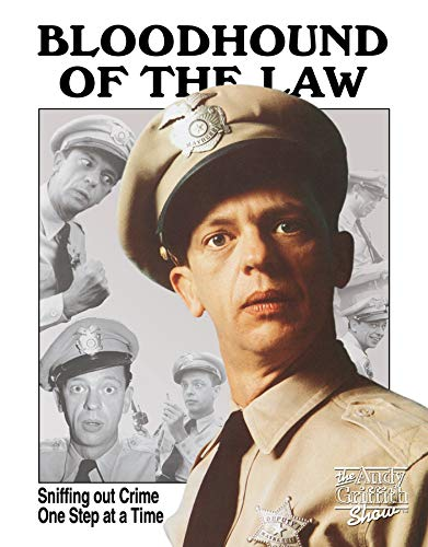 Desperate Enterprises The Andy Griffith Show - Bloodhound of The Law Barney Fife Tin Sign, 12.5