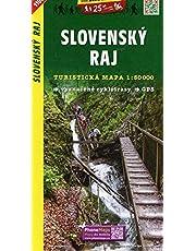 Slovak Paradise - Slovensky Raj (Slovakia) 1:50,000 Hiking Map, GPS-compatible