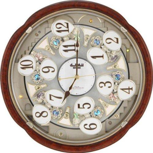 【シチズン/リズム時計】【シチズン】電波からくり時計スモールワールドコンベルS 4MN480RH23 アナログ B008M4CN92