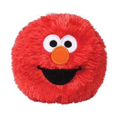 Gund Sesame Street Elmo Stuffed Giggle Ball