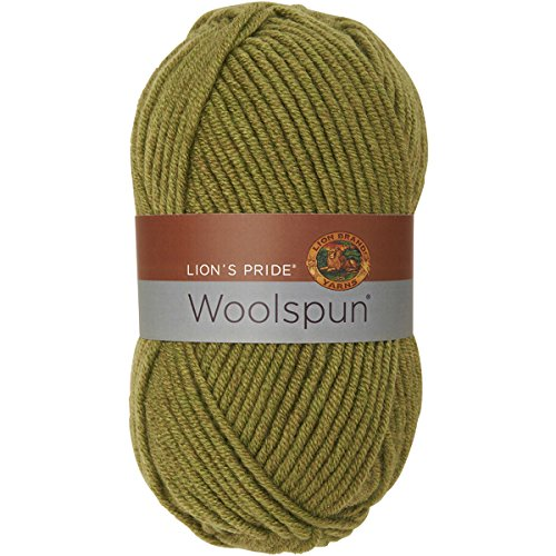 Wool Yarn Avocado - Lion Brand Yarn 671-173 Lion's Pride Woolspun, Avocado