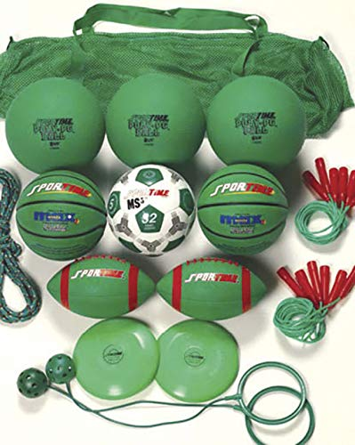 Sportime Recess Pack, Green, Grade 3, Set of 20 by Sportime