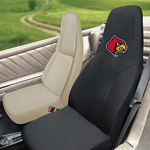 FANMATS NCAA University of Louisville Cardinals Polyester Seat Cover