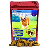 Glucosamine for Dogs - Treats - Joint & Hip Formula with MSM, Chondroitin and Hyaluronic Acid - 65 Soft Chews