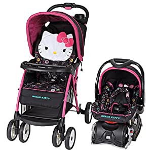 baby trend venture travel system hello kitty daisy swirl baby. Black Bedroom Furniture Sets. Home Design Ideas