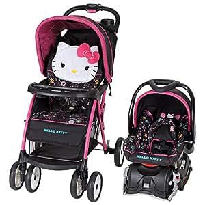 Amazon.com : Baby Trend Venture Travel System, Hello Kitty ...