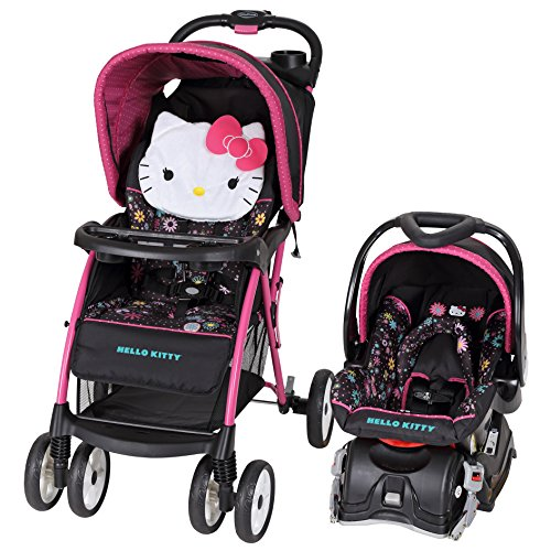 Hello Kitty Baby Car Seat And Stroller - 1