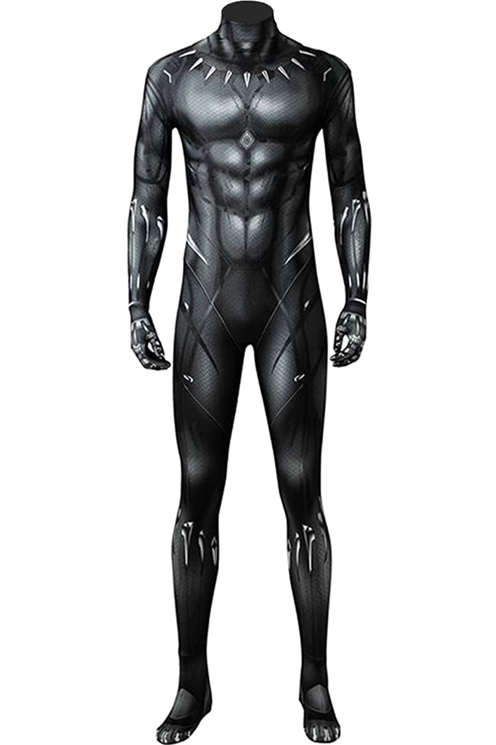Wecos 2018 Movie Black Panther Costume T'Challa 3D Printed Jumpsuit