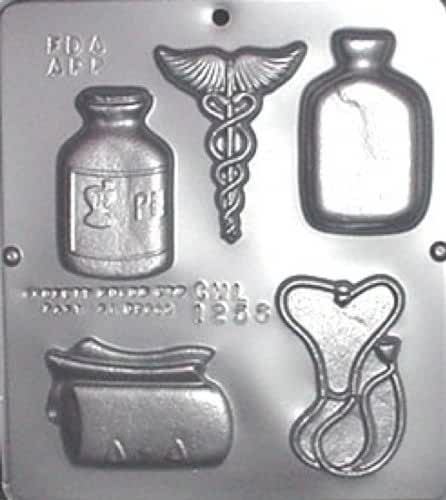 Doctor Medical Assortment Chocolate Candy Mold 1256