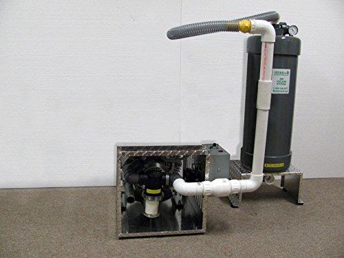 Sierra Dental Pump Single Dry Vacuum System up to 8 Users