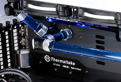 Thermaltake Pacific DIY LCS 500mm Lengths V-Tubler PETG Hard Tubing (4-Pack) OD 16mm (5/8'') x ID 12mm (1/2'') CL-W065-PL16TR-A by Thermaltake (Image #3)