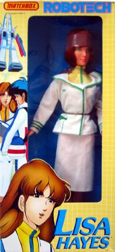 """ROBOTECH Lisa Hayes 11.5"""" Figure Doll by MATCHBOX 1985"""