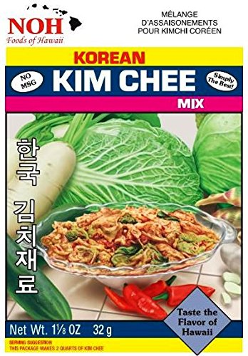NOH Korean Kim Chee Base, 1.125-Ounce Packet, (Pack of 12) ()