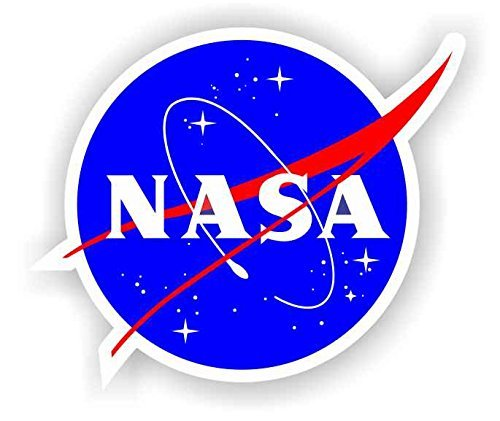 Nasa Seal USA Space Cosmos Logo Vinyl Sticker 2""