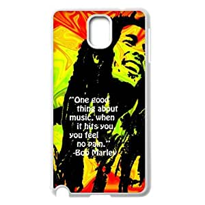 Hjqi - DIY Bob Marley Plastic Case, Bob Marley Unique Hard Case for Samsung Galaxy Note 3 N9000