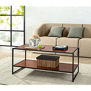 Amazoncom Emerald Home T1000 Chandler Cocktail Table Wood