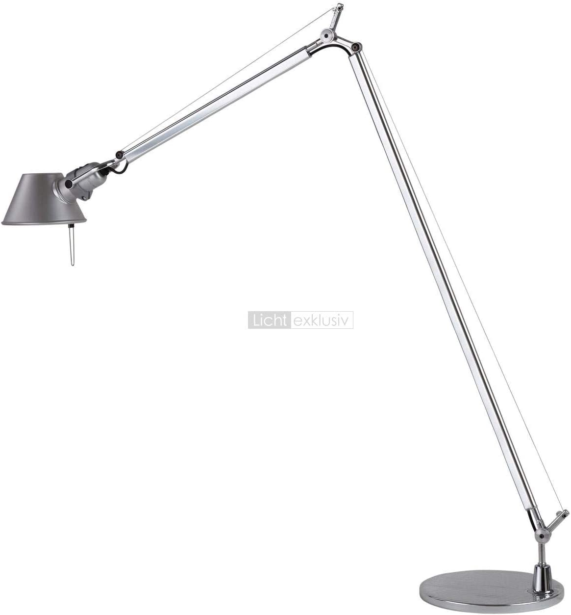 Artemide Tolomeo Reading Floor Stehlampe Aluminium E27 100 X 167 X 23 Cm Amazon De Beleuchtung
