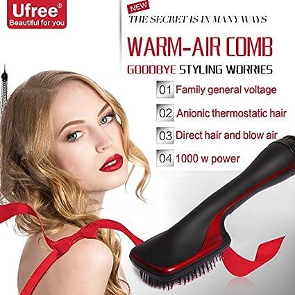 Cepillo Alisador Electrico deNew secador de pelo eléctrico, nuevo secador de pelo eléctrico, dos