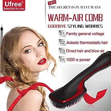 Cepillo Alisador Electrico deNew secador de pelo eléctrico, nuevo secador de pelo eléctrico, dos en uno secador multifuncional, anión seco y húmedo, ...