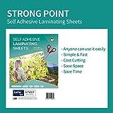 HASHI (20 Sheets) Self Adhesive Laminating