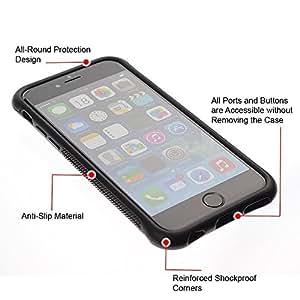 """Pulsar iFace Series Tpu silicona Carcasa Funda Case para Apple iPhone 6+ Plus(5.5 inches) , Globos del cumpleaños de eventos colorido del partido"""""""