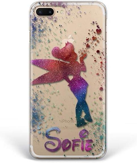Kaidan Tinker Bell iPhone 11 Pro 6 6s X XR XS Max Custom Name 5s SE Case 8 7 Plus Fairy Samsung Galaxy S8 S9 S10 + Magic Note 10 Lite A70 A60 Note 9 8 Google Pixel 3A 3 4 XL LG G8 Thinq G7 Fit fdp4