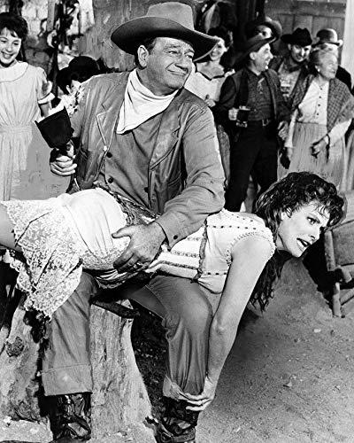 (Maureen O'Hara John Wayne Spanking Mclintock 8 x 10 Metal Aluminum Tin Gloss Sign)