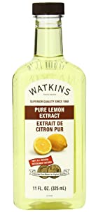 Watkins Pure Lemon Extract, 11 oz. Bottle, 1 Count (Packaging May Vary)