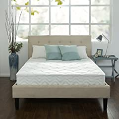 The Sleep Master iCoil 8 Inch Spring Mattress by Zinus features hundreds of independent iCoils providing customized support while minimizing motion transfer for uninterrupted sleep. The Foam and Fiber Quilted Cover adds conforming comfort and...
