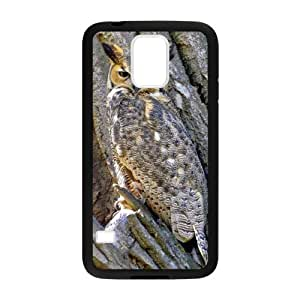 Camo Tree Hybrid Shockproof Protective &Cute Owl Bird Tree Custom Case for Samsung Galaxy S5?