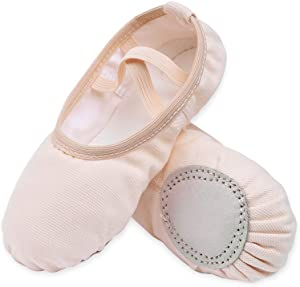 Sweepstakes - STELLE Girls Canvas Ballet Slippers...
