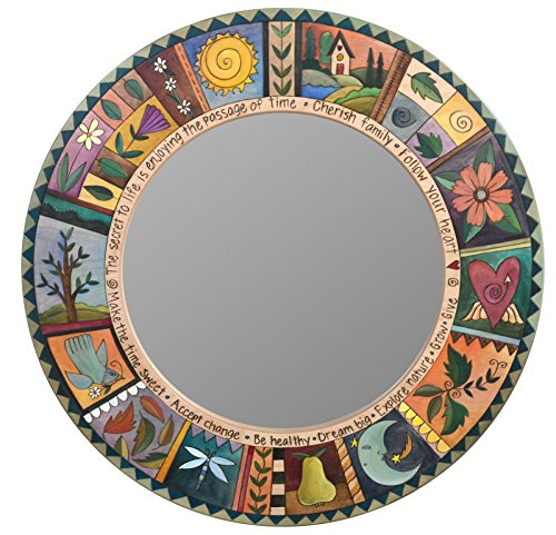 Sticks Furniture - Standard 36'' Diameter Mirror MIR012 by Sticks