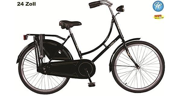 Hoop Altec Zoey Omafiets – Bicicleta para niña (24 pulgadas negro ...