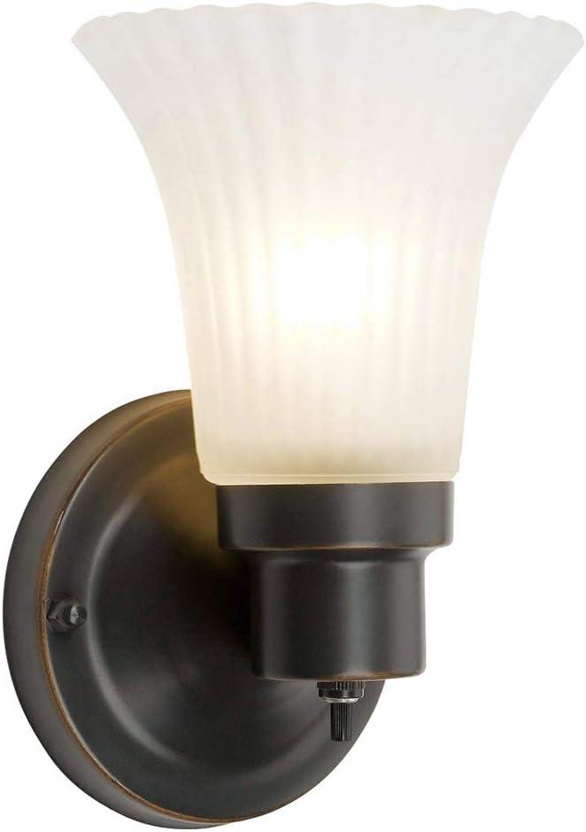 Design House 505115 1 Light Wall Light, Oil Rubbed Bronze - -
