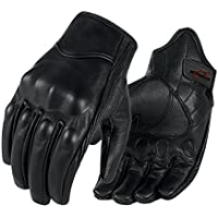 Full finger Goat Skin Leather Touch Screen Motorcycle...
