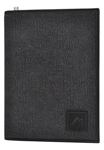 Field Notes/Moleskine Pocket Notebook Cover by Metier Life | Canvas with Vegan Leather | Fits Journals 3.5