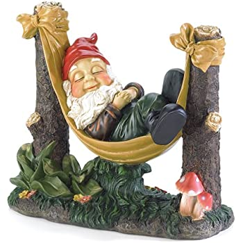 Attractive Gifts U0026 Decor Slumbering Gnome Garden Statue