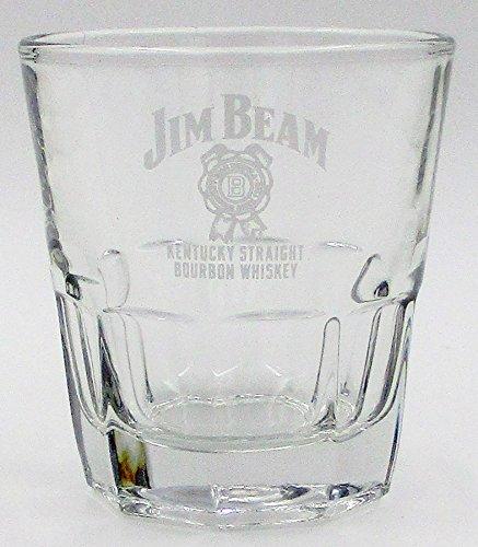 (Jim Beam Straight Kentucky Bourbon Whiskey Promotional Tumbler (Glass))