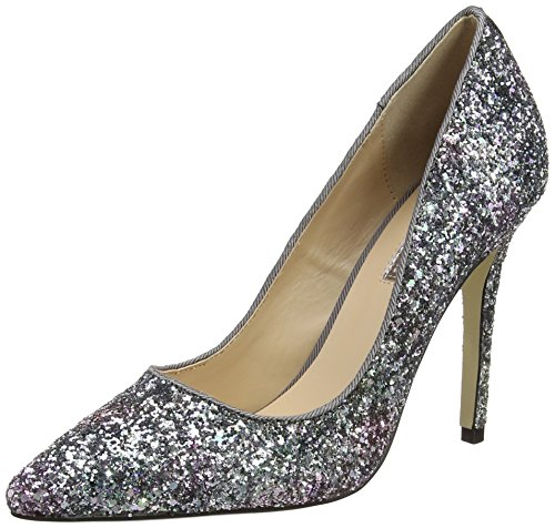 Dorothy Perkins Glitter Emie Ponted, Zapatos de Tacón Mujer Multicolour (Multi Bright)