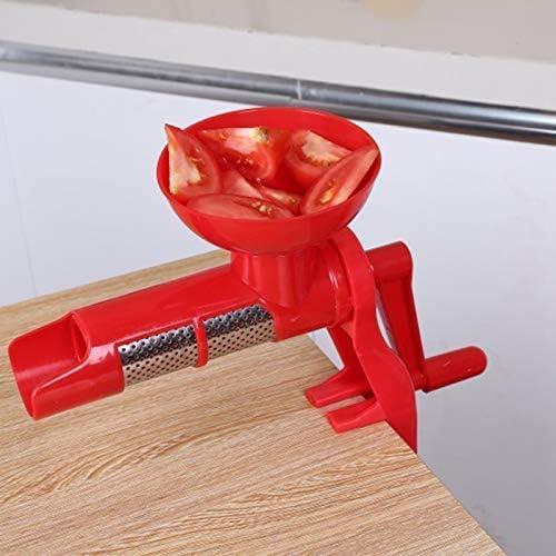 AXAA Exprimidor de Salsa de Tomate Manual de Mano de plástico para Jugo de Tomate Accesorios de Cocina multifuncionales Gadgets Herramientas de Frutas