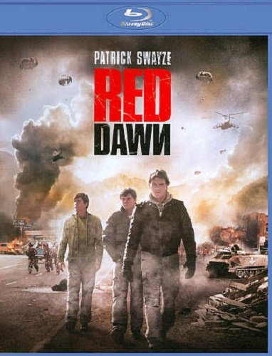 RED DAWN 1984 BLU-RAY Disc Movie (Patrick Swayze, Charlie Sheen C. Thomas Howell and Lea Thompson)