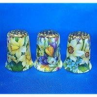 Birchcroft Dedales coleccionables de porcelana china, juego