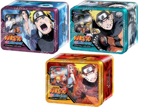 (Naruto Shippuden Card Game Set of 3 Fierce Ambitions Collector Tins Naruto Vs. Sasuke, Naruto Vs. Akatsuki Naruto Save Gaara)