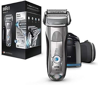 Braun Series 7 7898 cc - Afeitadora eléctrica para hombre de lámina , en seco y mojado, máquina de afeitar barba con ...