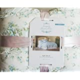 simply shabby chic king size hand quilted quilt wallpaper ikat light blue size 106 x 92 100 cotton blue shabby chic bedding