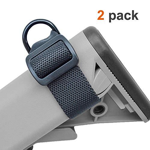 (lanhe tactical Adjustable Buttstock Sling for Rifle Shotgun Universal Gunstock Strap Attachment 1.25