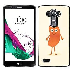 A-type Arte & diseño plástico duro Fundas Cover Cubre Hard Case Cover para LG G4 (Gracioso - Hombre Hot Dog)