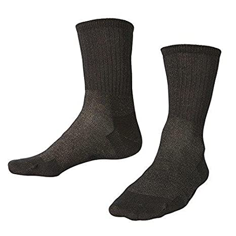 Socks with 12 Percent Silver Thread, helps keep feet warm, controls odour (Large) TDS