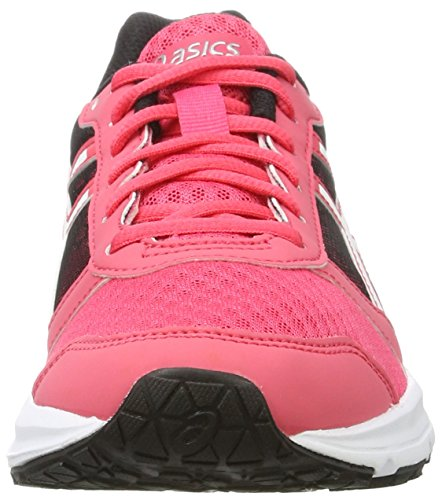 Asics White Damen Patriot Gymnastikschuhe Black 8 Rouge Red Pink UFgUqwT